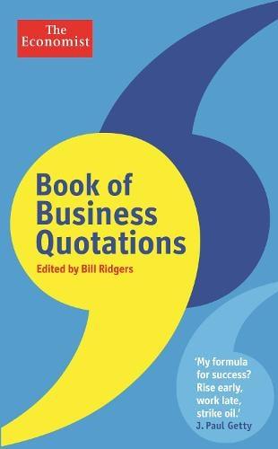 The Economist Book of Business Quotations (Hardback)
