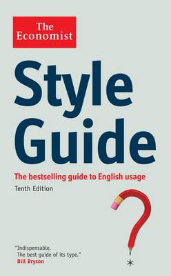 The Economist Style Guide (Paperback)