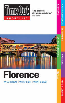 """""""Time Out"""" Shortlist Florence (Paperback)"""