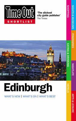 """Time Out"" Shortlist Edinburgh (Paperback)"