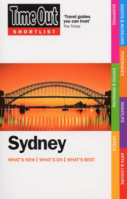 """""""Time Out"""" Shortlist Sydney (Paperback)"""