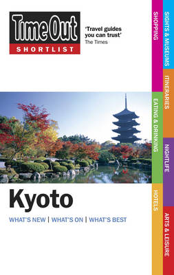 """Time Out"" Shortlist Kyoto (Paperback)"