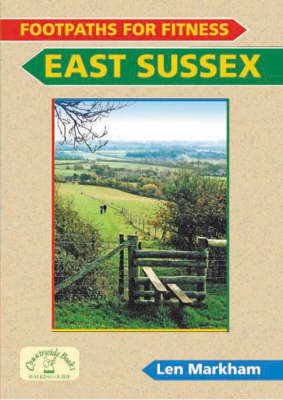 Footpaths for Fitness: East Sussex (Paperback)