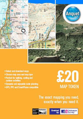 GBP 20 Map Token: Digital Mapping Enabled by Ordnance Survey (& Others) (DVD)