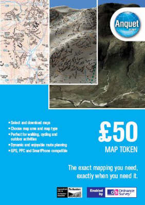 GBP 50 Map Token: Digital Mapping Enabled by Ordnance Survey (& Others) (DVD)
