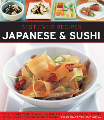 Best Ever Recipes: Japanese & Sushi (Paperback)