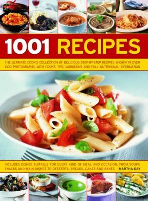 1001 Recipes (Hardback)