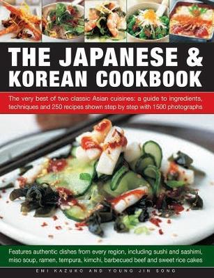 Japanese & Korean Cookbook (Paperback)