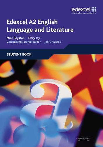 Edexcel A2 English Language and Literature Student Book (Paperback)