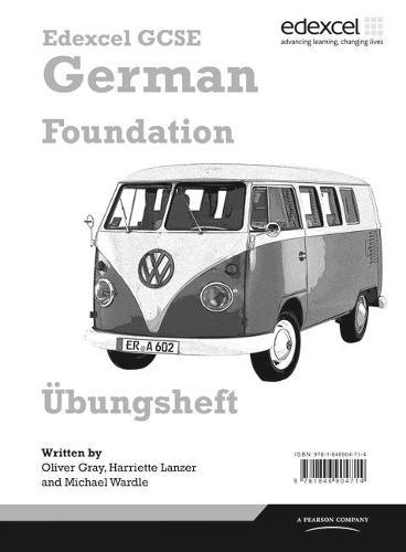Edexcel GCSE German Foundation Workbook Pack of 8 - Edexcel GCSE German