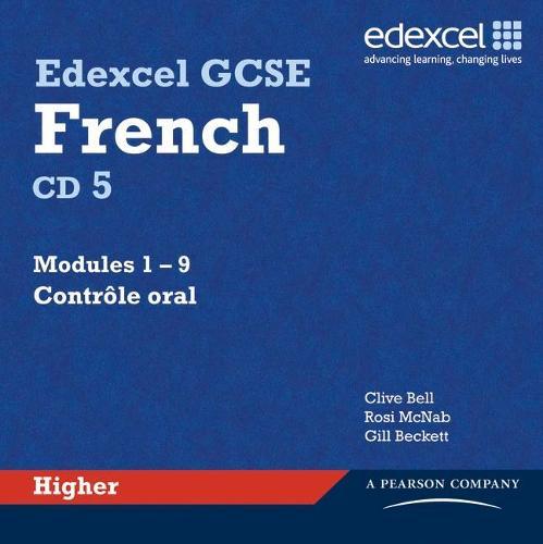 Edexcel GCSE French Higher Audio CDs - Edexcel GCSE French (CD-Audio)