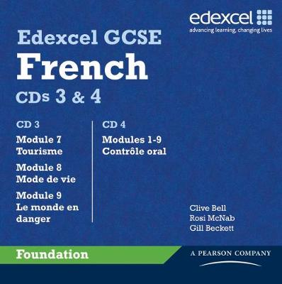 Edexcel GCSE French Foundation Audio CD Pack - Edexcel GCSE French (CD-Audio)