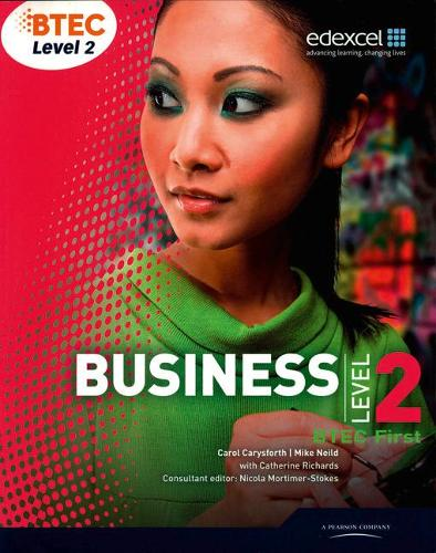 BTEC First Business Student Book - Level 2 BTEC First Business (Paperback)