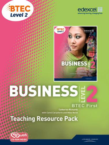 BTEC Level 2 First Business Teaching Resource Pack - Level 2 BTEC First Business