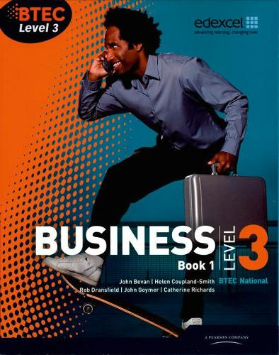BTEC Level 3 National Business Student Book 1 - Level 3 BTEC National Business (Paperback)