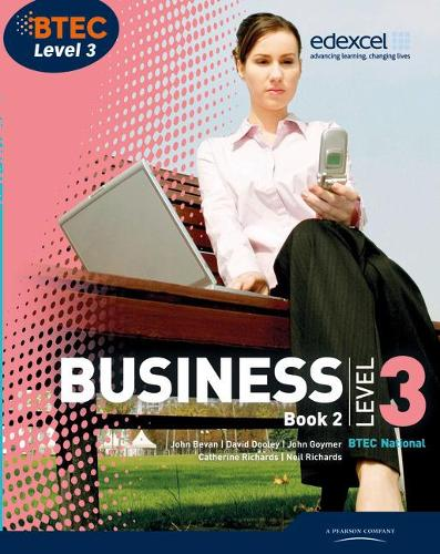 BTEC Level 3 National Business Student Book 2 - Level 3 BTEC National Business (Paperback)