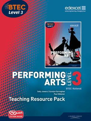 BTEC Level 3 National Performing Arts TRP plus CD Rom - Level 3 BTEC National Performing Arts