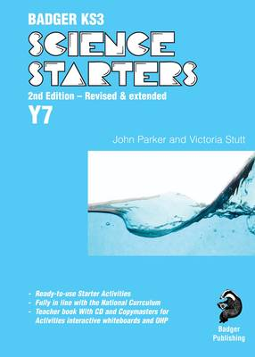 Badger KS3 Science Starters: Year 7 - Badger KS3 Science Starters (Spiral bound)