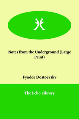 Notes from the Underground (Paperback)