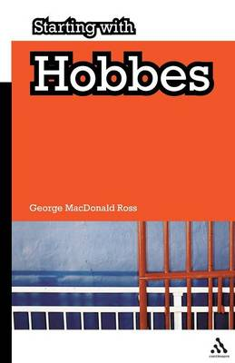 Starting with Hobbes - Starting with... (Paperback)