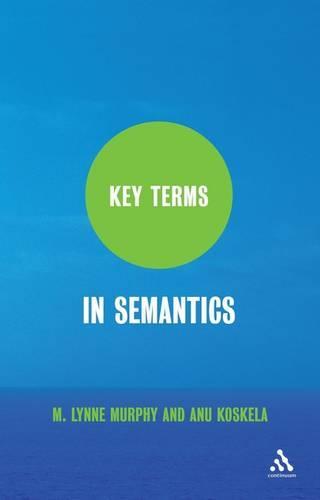 Key Terms in Semantics - Key Terms (Paperback)