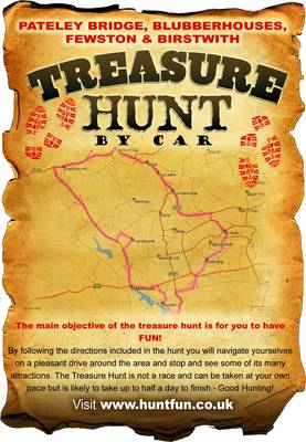 Pateley Bridge, Blubberhouses, Fewston and Birstwith Treasure Hunt by Car - Huntfun.Co.Uk S. (Paperback)