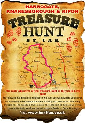 Harrogate, Knaresborough and Ripon Treasure Hunt by Car - Huntfun.Co.Uk S. (Paperback)