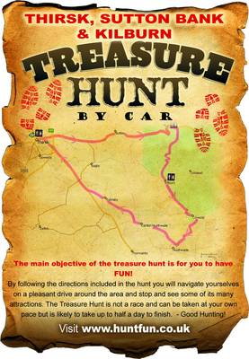 Thirsk, Sutton Bank and Kilburn Treasure Hunt by Car - Huntfun.Co.Uk S. (Paperback)