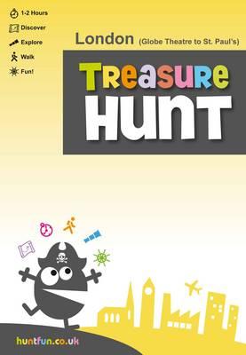 London (Globe Theatre to St Paul's) Treasure Hunt (Paperback)