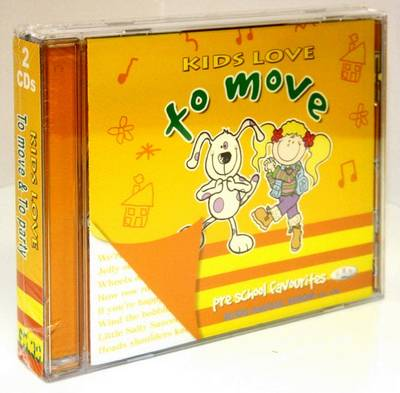 Kids Love to Move and to Party (CD-Audio)