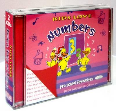 Kids Love Numbers, Songs and Rhymes (CD-Audio)