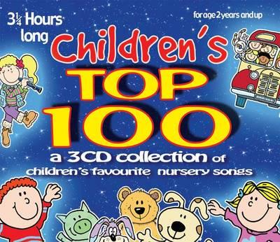 Children's Top 100: Children's Favourite Nursery Songs (CD-Audio)