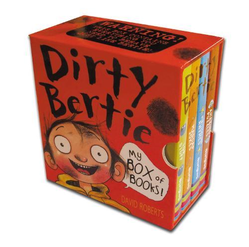 My Box of Books! - Dirty Bertie (Board book)