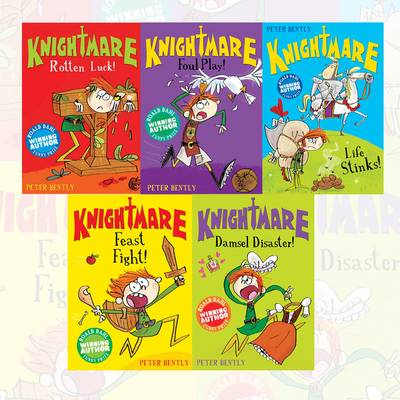 Knightmare 5 Book Set (Plodit) (Paperback)