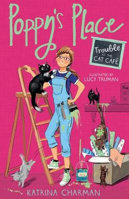Trouble at the Cat Cafe - Poppy's Place 2 (Paperback)
