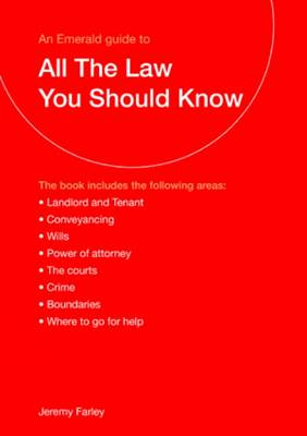 All the Law You Should Know (Paperback)
