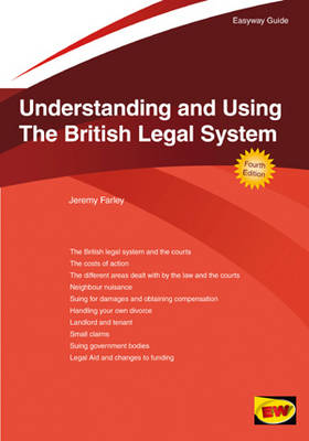 Understanding and Using the British Legal System (Paperback)