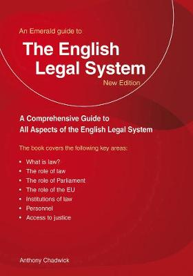 The English Legal System: An Emerald Guide (Paperback)