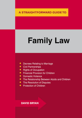 Family Law: A Straightforward Guide (Paperback)