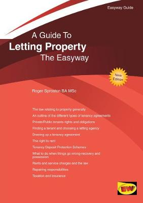 A Guide To Letting Property The Easyway (Paperback)
