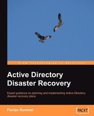 Active Directory Disaster Recovery (Paperback)