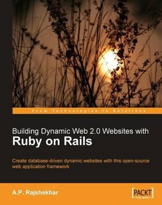 Building Dynamic Web 2.0 Websites with Ruby on Rails (Paperback)