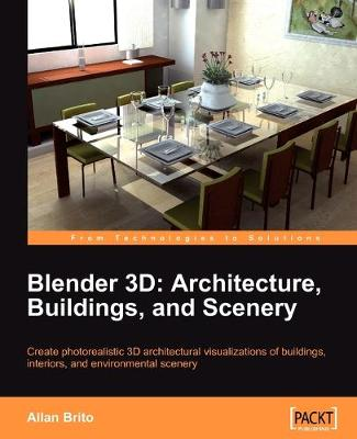 Blender 3D: Architecture, Buildings, and Scenery (Paperback)