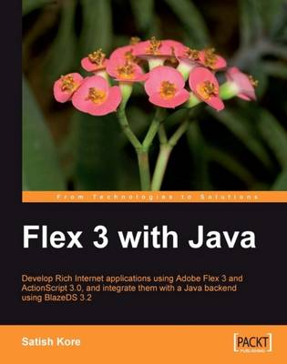 Flex 3 with Java (Paperback)