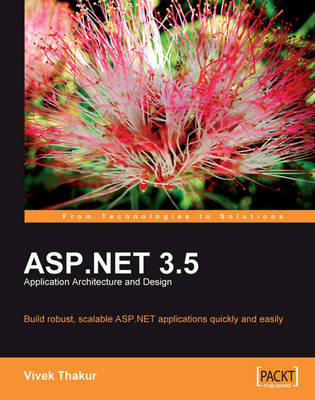 ASP.NET 3.5 Application Architecture and Design (Paperback)