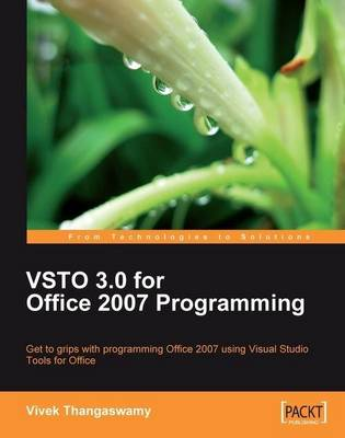 Vsto 3.0 for Office 2007 Programming (Paperback)