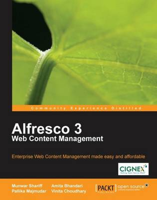 Alfresco 3 Web Content Management (Paperback)