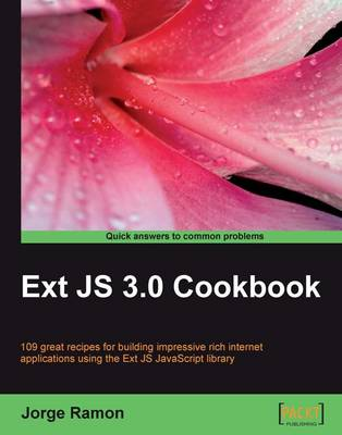 Ext JS 3.0 Cookbook (Paperback)
