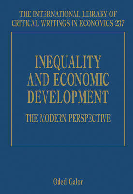 Inequality and Economic Development: the Modern Perspective - The International Library of Critical Writings in Economics Series 237 (Hardback)