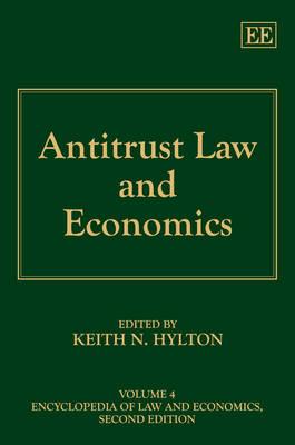 Antitrust Law and Economics - Encyclopedia of Law and Economics, Second Edition 4 (Hardback)